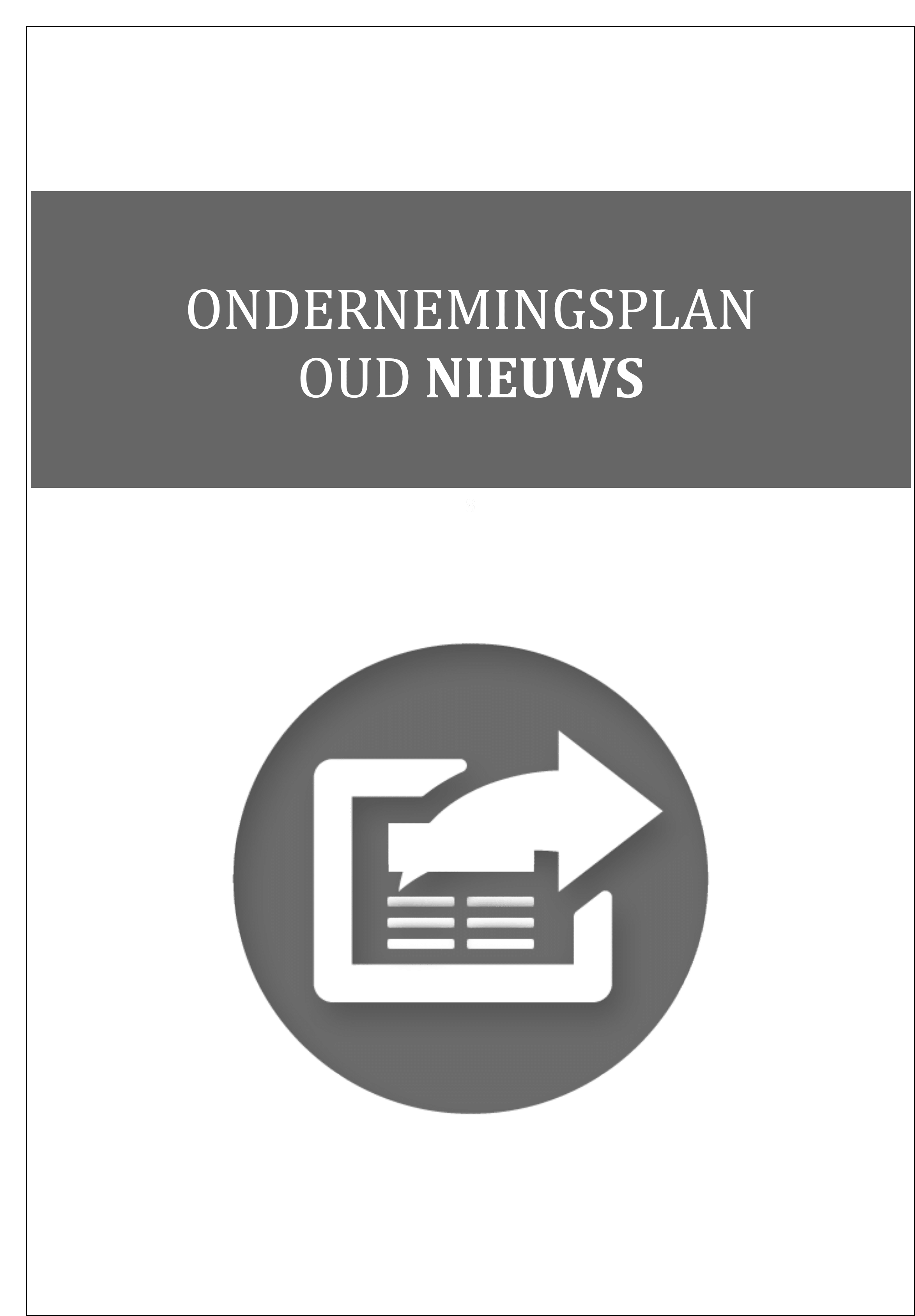 ondernemingsplan adviesbureau Voorbeeld ondernemingsplan – Ondernemingsplannenfabriek ondernemingsplan adviesbureau